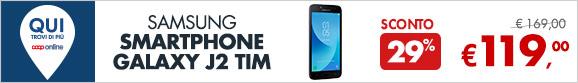 Samsung Smartphone Galaxy J2 a 119€