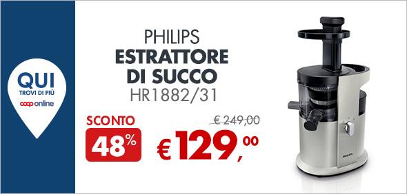Philips Estrattore di succo a 129€