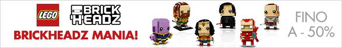 Lego Brickheadz Mania fino a -50%