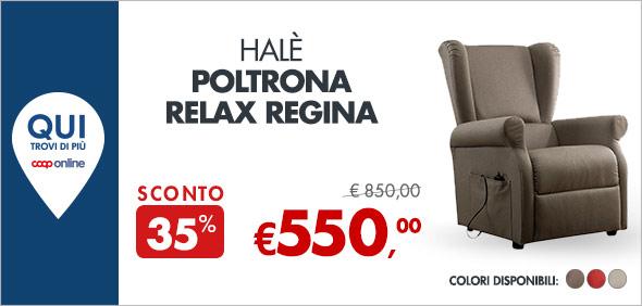 Halè Poltrona Relax Regina a 550€