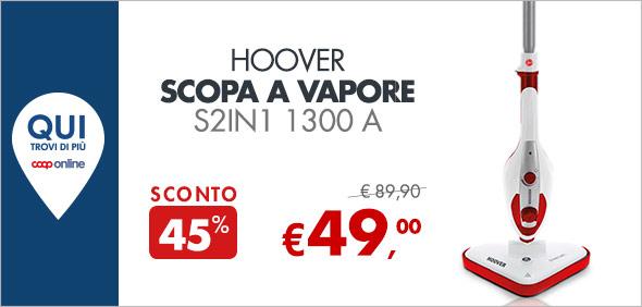 HOOVER Scopa a vapore a 49€