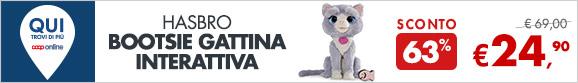 HASBRO BOOTSIE Gattina interattiva a 24,90€
