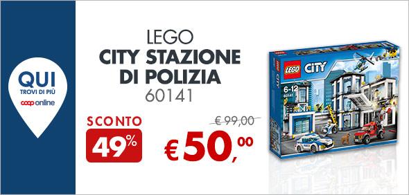 Lego City Stazione di Polizia 60141 a 50€