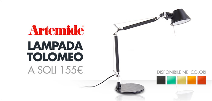 Artemide Tolomeo a soli 155€