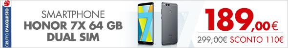 HONOR Smartphone 7x 64 GB Dual Sim