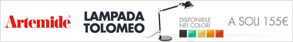 Artemide: Lampada Tolomeo a 155€
