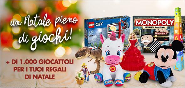 Un Natale pieno di giochi! + di 1000 giocattoli per i tuoi regali di Natale