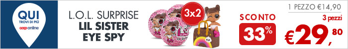 L.O.L. Surprise LIL Sister Eye Spy 3 pezzi a 29,80€