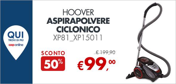 Hoover Aspirapolvere ciclonico a 99€