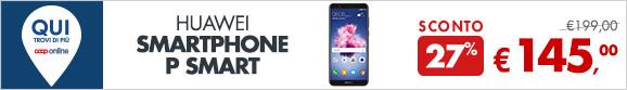 Huawei Smartphone P Smart a 145€