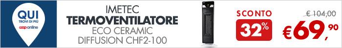 Imetec Termoventilatore Eco Ceramic a 69,90€